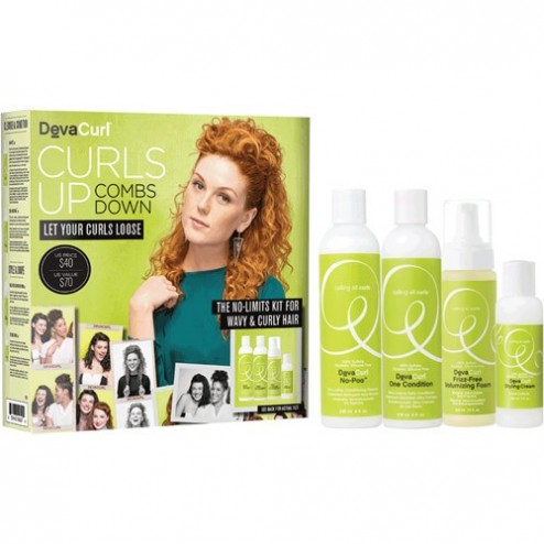 Deva Curl Wavy and Curly Kit