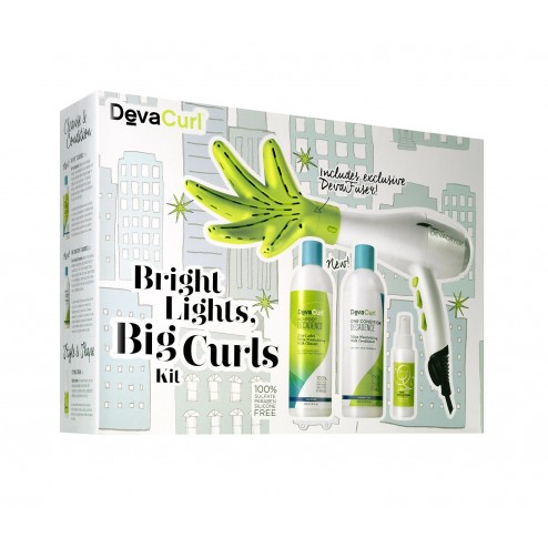 DevaCurl Bright Lights Big Curls Kit - free shipping