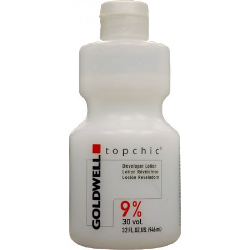 Goldwell Topchic Developer Lotion 9%  30 vol 32 oz