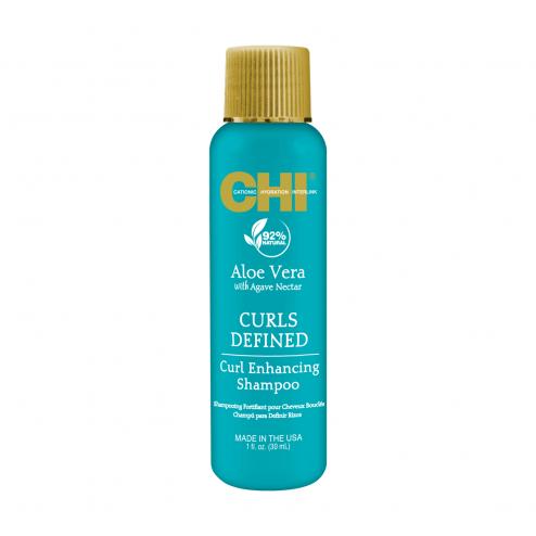 Farouk CHI Aloe Vera Curl Enhancing Shampoo 1 Oz