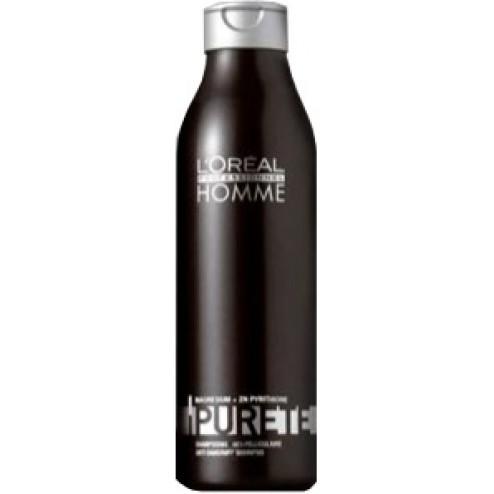 Loreal Homme Purete Anti-Dandruff Shampoo  8.45 oz