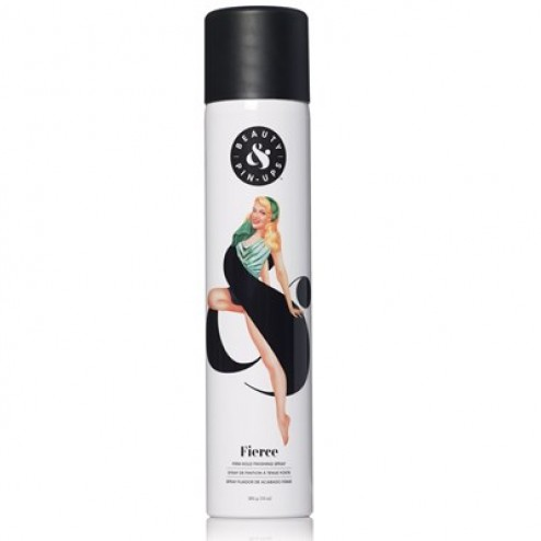Beauty and Pin-Ups Fierce Firm Hold Finishing Spray 10 Oz.