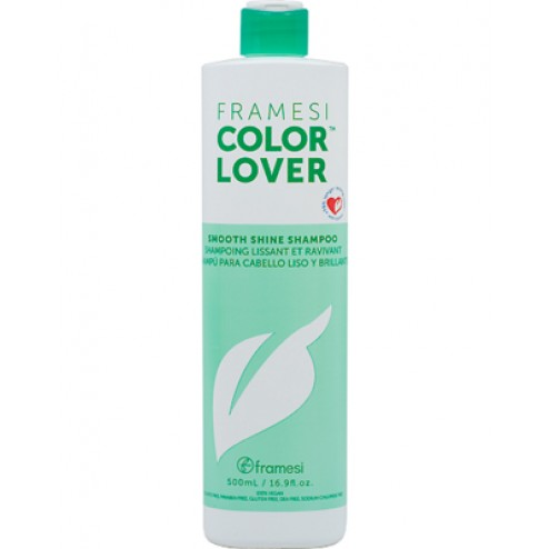 Framesi Color Lover Smooth Shine Shampoo 16.9 Oz