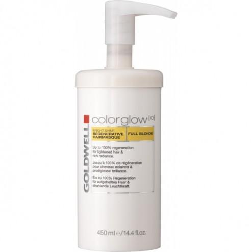 Goldwell Colorglow IQ Bright Shine Regenerative Hair Masque Full Blonde 15.2 Oz
