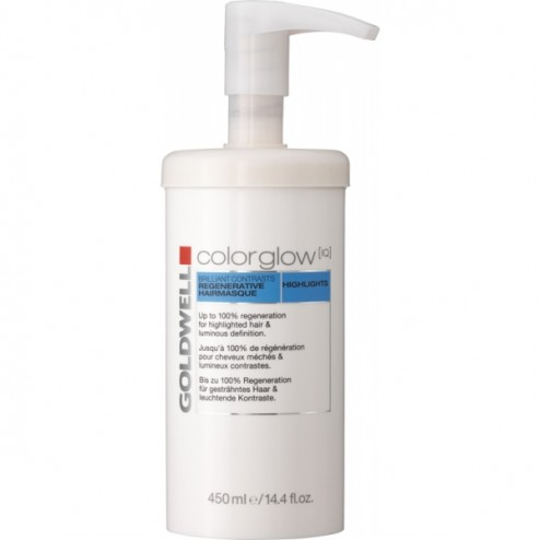 Goldwell Colorglow IQ Highlights Brilliant Contrast Hair Masque 15.2 Oz