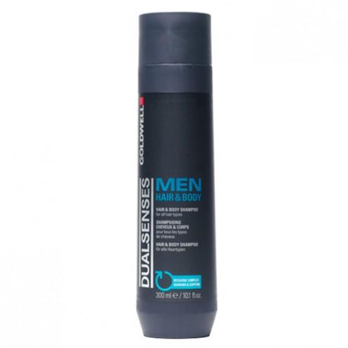 Goldwell Dualsenses for Men Hair & Body Shampoo 10.1 Oz