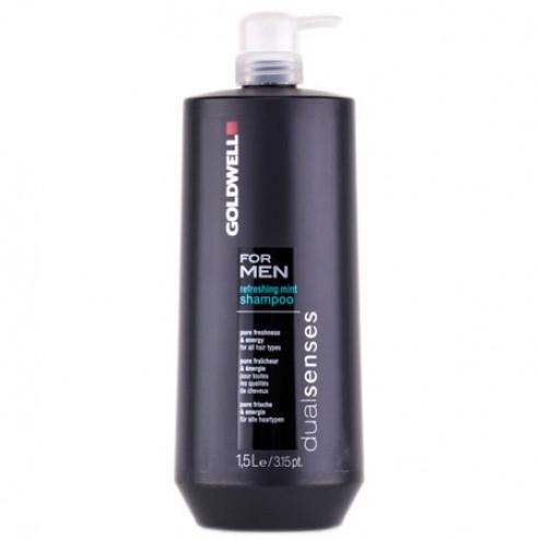 Goldwell Dualsenses For Men Refreshing Mint Shampoo 50.7 Oz