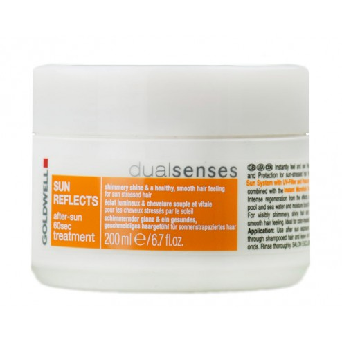 Goldwell Dualsenses Sun Reflects After Sun 60 Second Treatment 6.7 Oz