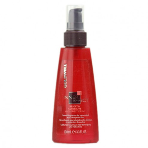 Goldwell Inner Effect Resoft Color Live Anti Frizz Serum 3.3 Oz