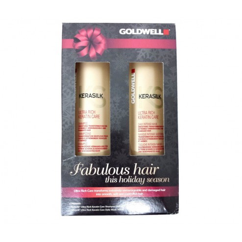 Goldwell Kerasilk Ultra Rich Care Holiday Duo Shampoo and Daily Mask