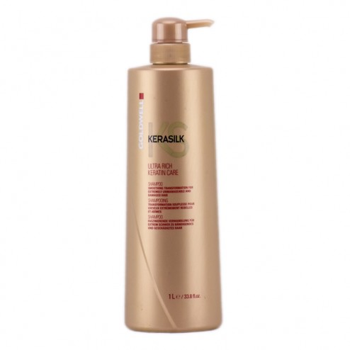 Goldwell Kerasilk Ultra Rich Keratin Care Shampoo 33.8 oz