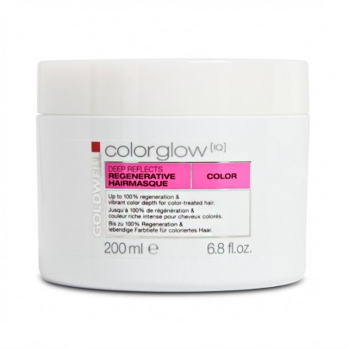 Goldwell Colorglow IQ Color Deep Reflects Hair Masque 6.8 oz