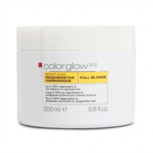 Goldwell Colorglow IQ Bright Shine Hair Masque Full Blonde 6.8 oz