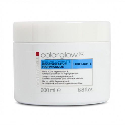 Goldwell Colorglow IQ Highlights Brilliant Contrast Hair Masque 6.8 oz