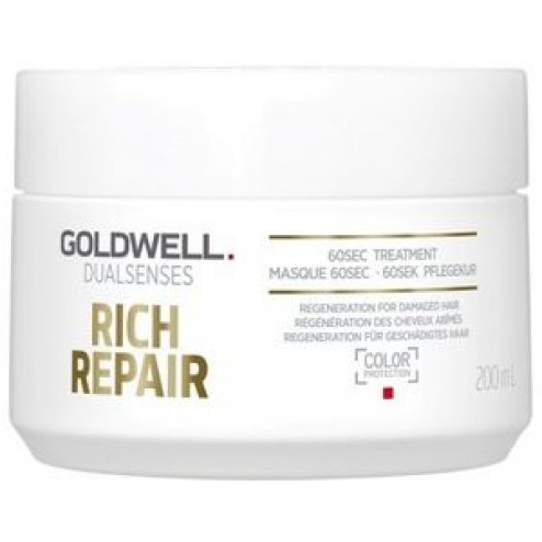 Goldwell Dualsenses Rich Repair 60 Sec Treatment 6.7 Oz