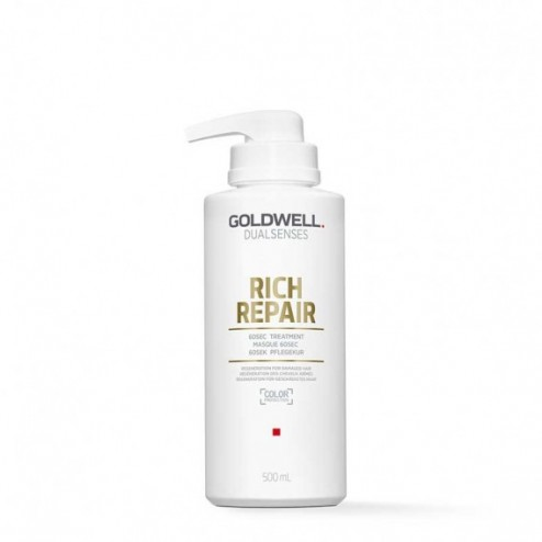 Goldwell Dualsenses Rich Repair 60 Sec Treatment 16.9 Oz
