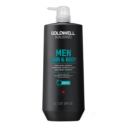 Goldwell Dualsenses for Men Hair & Body Shampoo 33.8 Oz