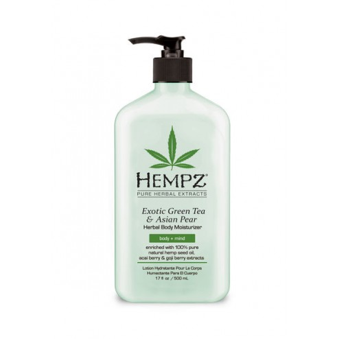 Hempz Exotic Green Tea & Asian Pear Herbal Body Moisturizer 17 Oz