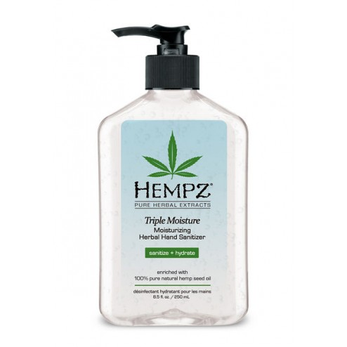 Hempz Triple Moisture Moisturizing Herbal Hand Sanitizer 2.5 Oz