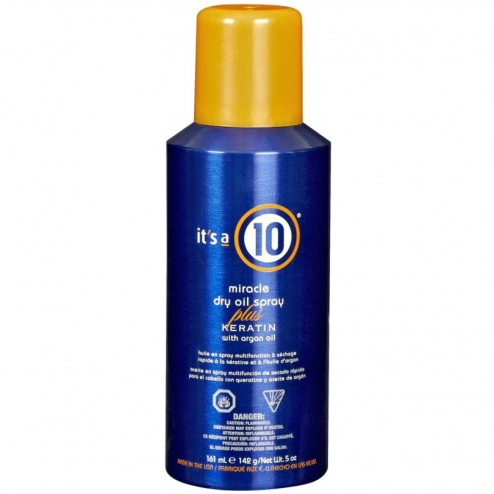 Its a 10 Miracle Dry Oil Spray plus Keratin