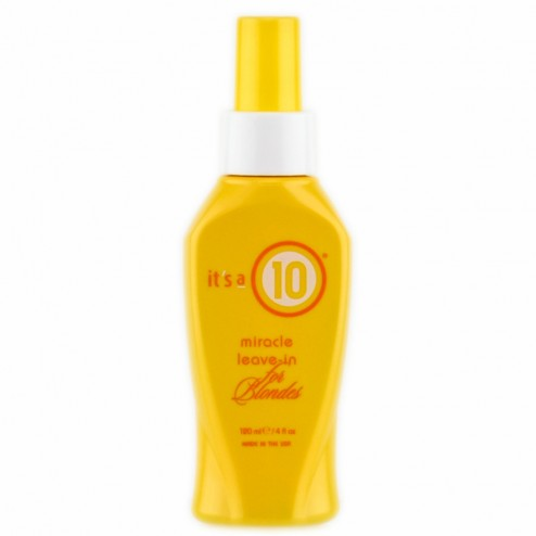Its a 10 Miracle Leave In for Blondes 4 Oz