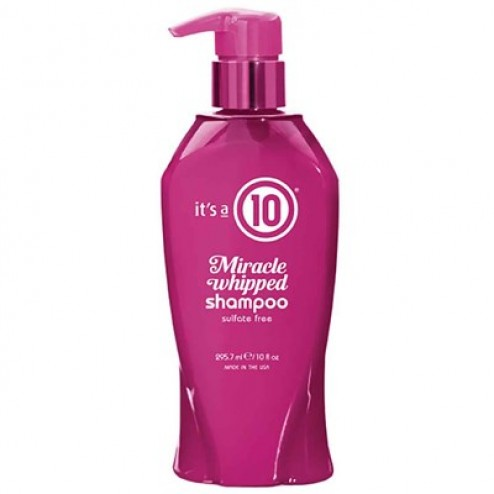 Its a 10 Whipped Collection Miracle Whipped Shampoo 10 Oz