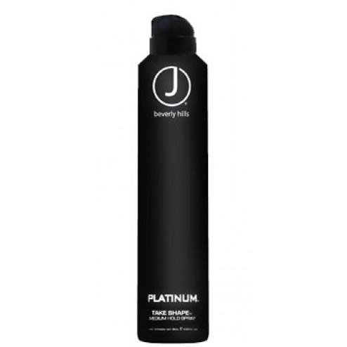 J Beverly Hills Platinum Take Shape Hairspray 8 Oz