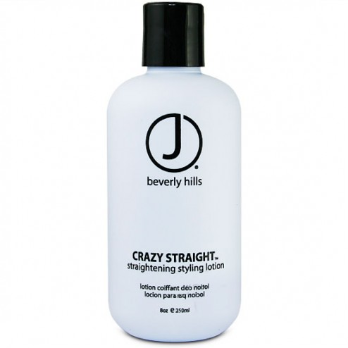 J Beverly Hills Crazy Straight Straightening Style Lotion 8 oz