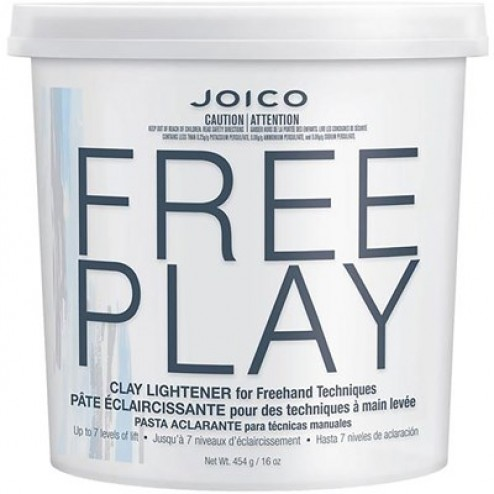 Joico FREEPLAY Clay Lightener 16 Oz