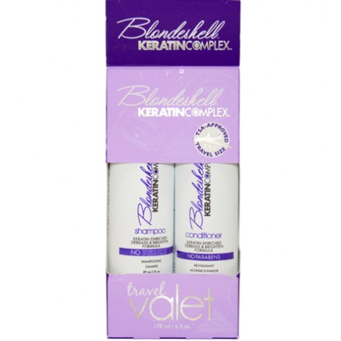 Keratin Complex Blondeshell Travel Set