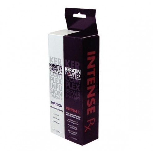 Keratin Complex Infusion and Intense Rx Repair DUO