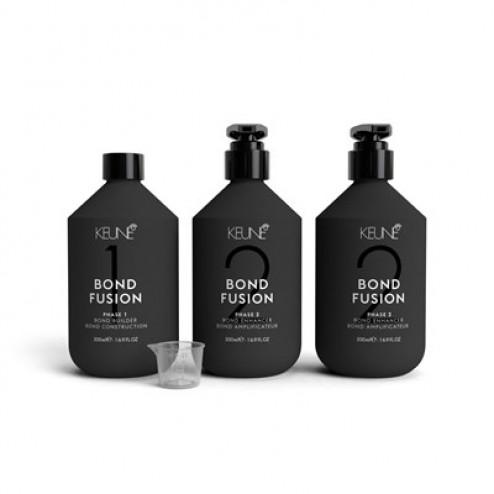 Keune Bond Fusion Salon Kit Steps 1 and 2