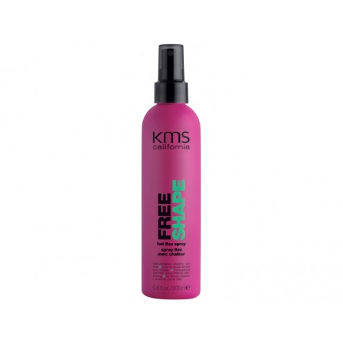 KMS California Free Shape Hot Flex Spray 6.8 Oz