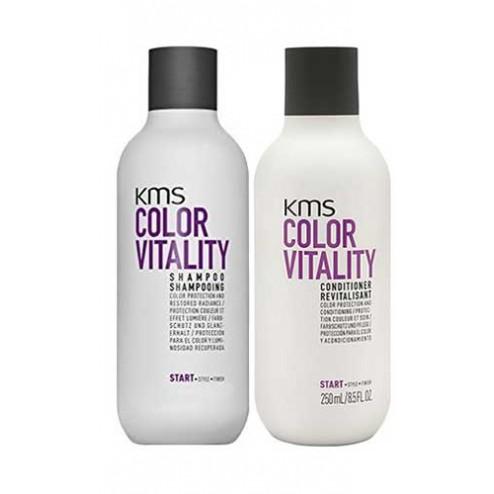KMS California Color Vitality Shampoo 10 Oz And Conditioner 8.5 Oz