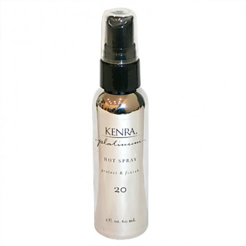 Platinum Hot Spray 2oz Travel Size by Kenra