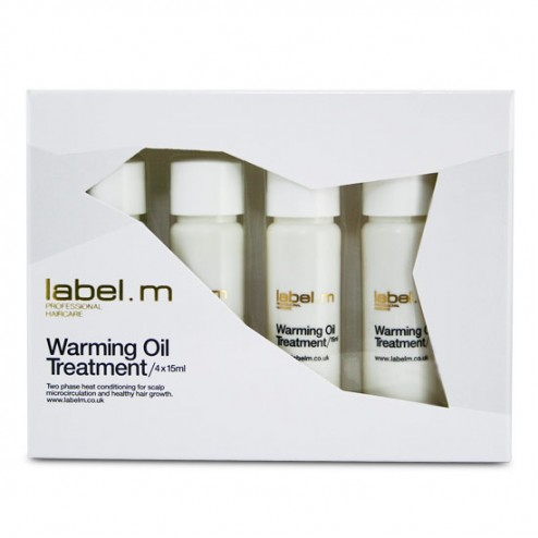 Label.m Warming Oil Treatment 4 x 15 ml