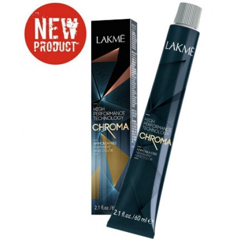 Lakme Chroma Ammonia Free Permanent Hair Color 2.1 Oz