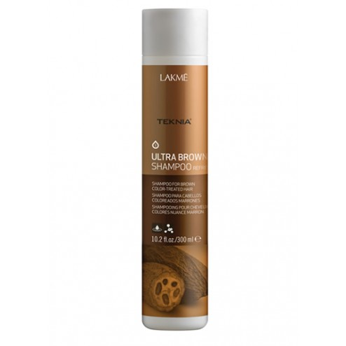 Lakme Teknia Ultra Brown Shampoo 10.2 Oz