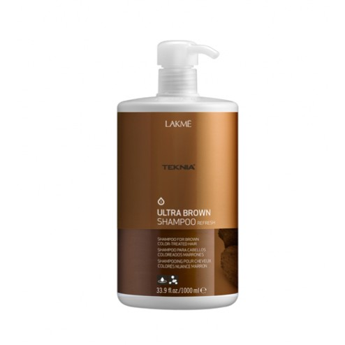 Lakme Teknia Ultra Brown Shampoo 33.9 Oz