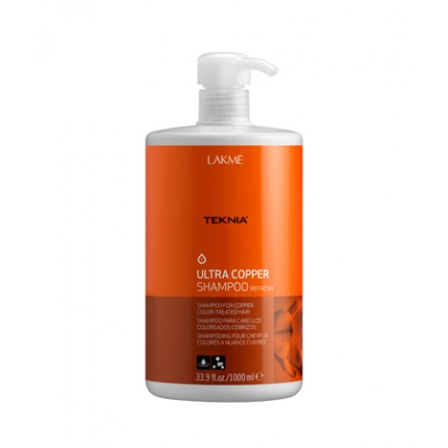 Lakme Teknia Ultra Copper Shampoo 33.9 Oz