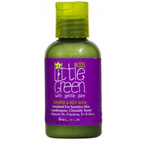 Little Green Kids All In One Shampoo and Body Wash 2 oz
