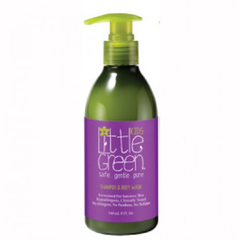 Little Green Kids All In One Shampoo and Body Wash 8 oz