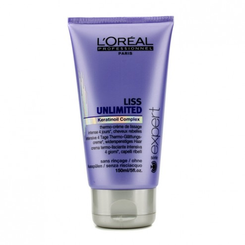 Loreal Liss Unlimited Smoothing Leave In Cream 5 Oz