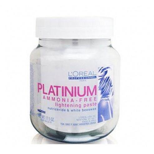 Loreal Platinium Ammonia Free Lightening Paste 17.5 Oz