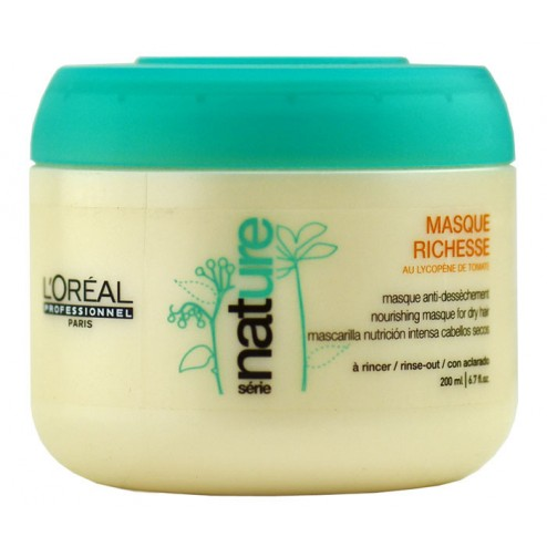 L'oreal Serie Nature Masque Richesse Nourishing Masque 6.7 Oz