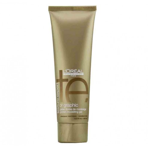 Loreal Texture Expert Or Graphic Golden Modelling Gel 4.2 Oz