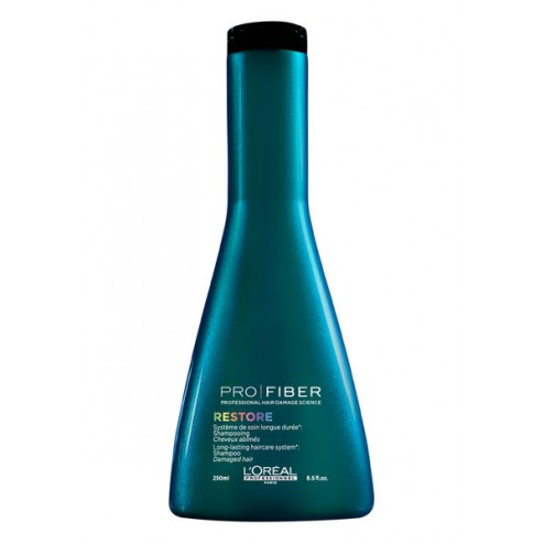 Loreal Pro Fiber Restore Shampoo 8.4 Oz (250ml)