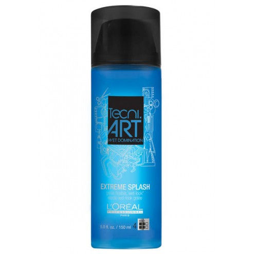 Loreal Professionnel Tecni.ART Wet Domination Extreme Splash 5 Oz