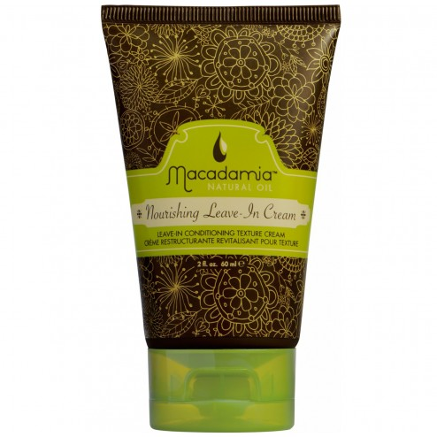 Macadamia Hair Nourishing Leave-In Cream Conditioner 2 Oz