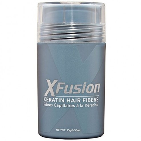 XFusion Keratin Hair Fibers - 15g - Gray